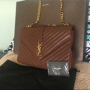 YSL LARGE COLLEGE BAG